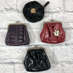 Miche coin purse collection.  4 coin bags. New! *